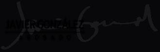 logotipo de javier gonzález abogado